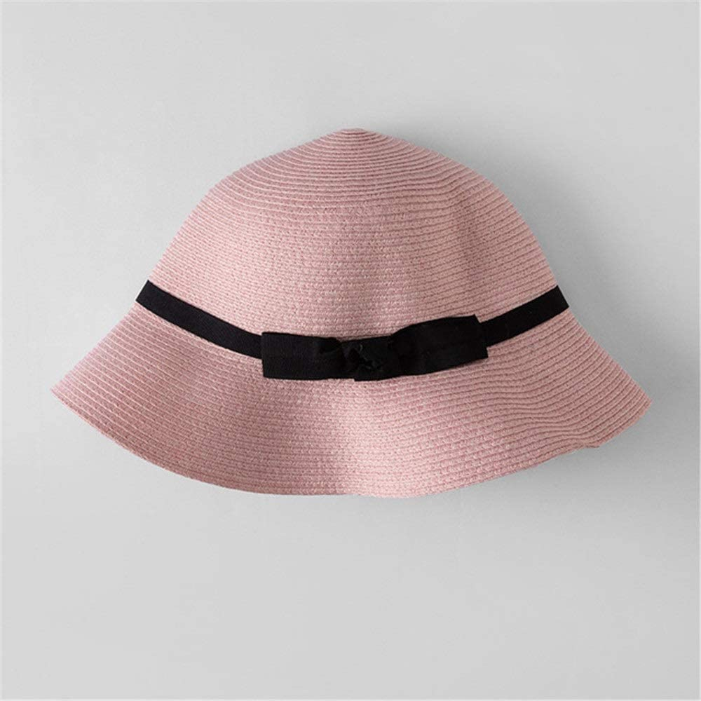 FridCy Summer Fisherman Visor Mixed Color Dome Big Sunscreen Sun Hat Bow Hat Visor Hat
