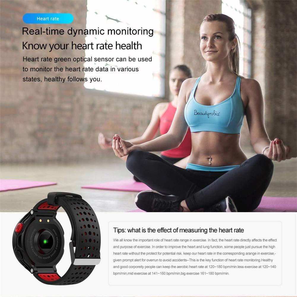 iBâstte Smartwatch, Impermeable Pulsera Inteligente,Pulsera ...