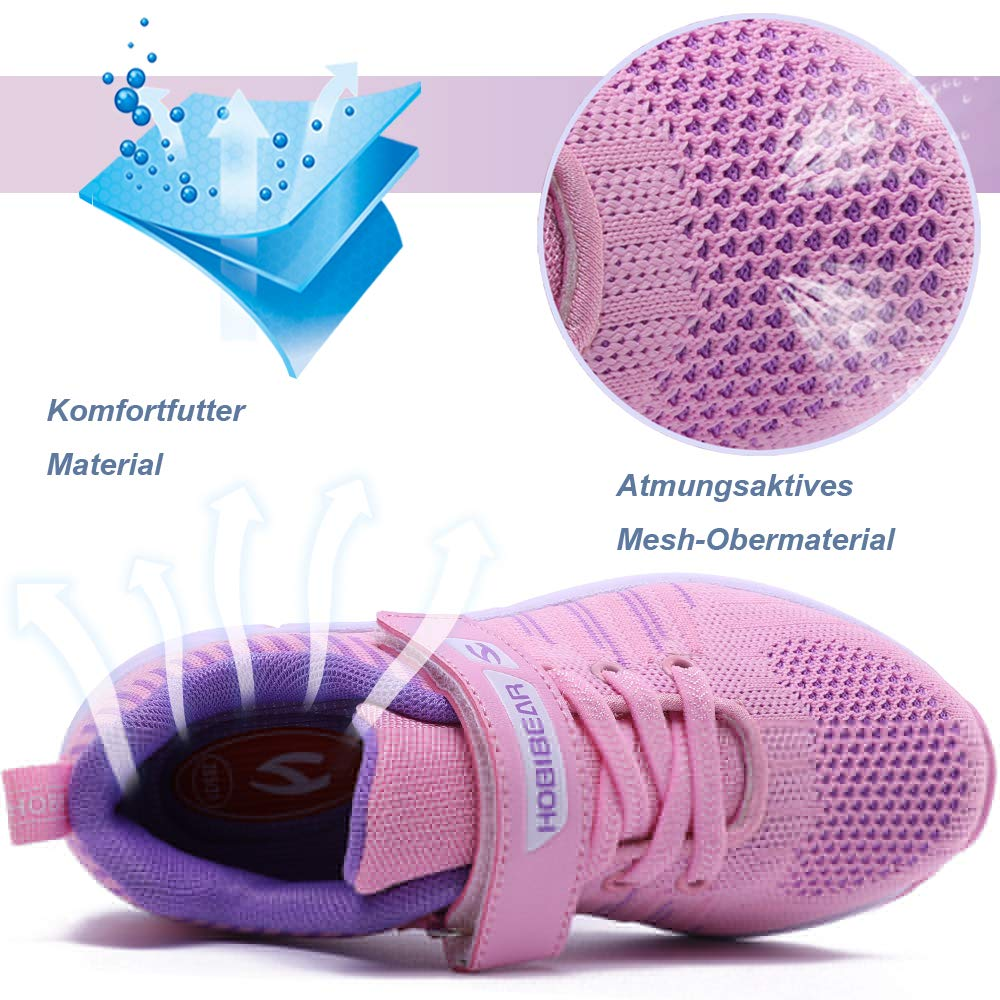 XIAO LONG Kids Trainers Boys Girls Sneakers Sports Running Walking Fitness Shoes for Outdoor