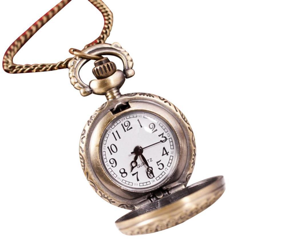 Watch Chain;START Metal Vintage Hollow Daisy Watches Pocket Watch