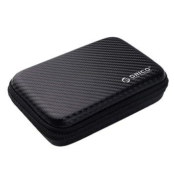 ORICO de 2,5 Inch de protección de la Caja del Disco Duro Pulgadas Bolsa Impermeable a Prueba de Golpes, Accesorios Digitales multifunción, Cable de ...