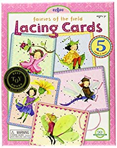 eeBoo - Lacing Cards Hadas Del Bosque (SC04)