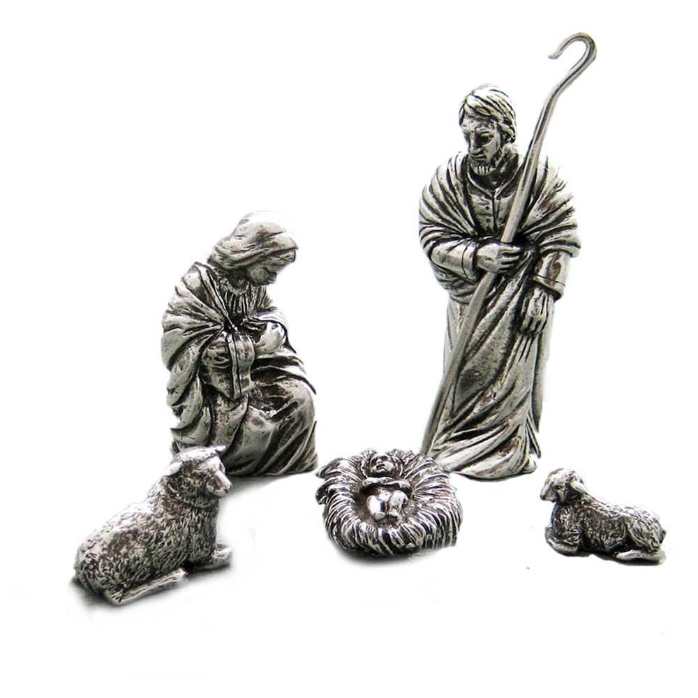 Danforth - Holy Family Pewter Nativity Set