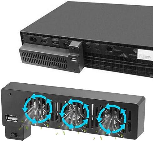 DandeliondemeExternal - Ventilador de refrigeración para Microsoft Xbox One X Game ConsoleAnti-sobrecalentamiento (3 Ventiladores): Amazon.es: Electrónica