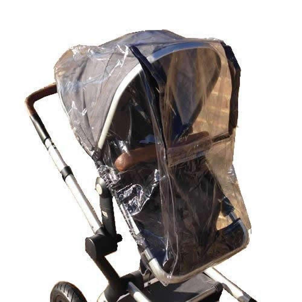 Gracias a su - Koodee protector de lluvia para carrito de seguridad para aire comprimido Joolz transparente: Amazon.es: Bebé