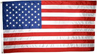 product image for Annin Flagmakers Model 2300 American Flag 6x10 ft. Nylon SolarGuard NYL-Glo, 100% Made in USA with Sewn Stripes Embroidered Stars and Brass Grommets