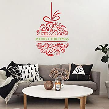 Diy Wall Sticker By Naladoo 2018 Happy New Year Merry Christmas