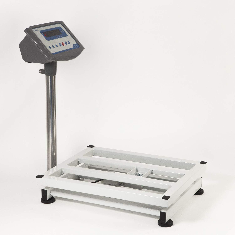 Accurex B/áscula Industrial de Plataforma RX-30S 30 kg // 5 g, Plataforma de Pesaje 30 x 40 cm