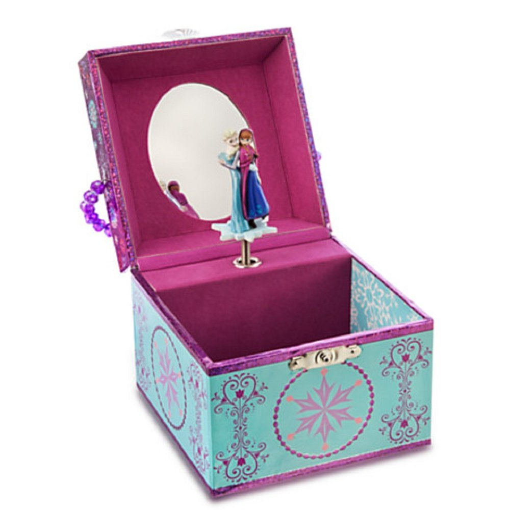 Amazoncom Anna and Elsa Musical Jewelry Box Frozen Toys Games