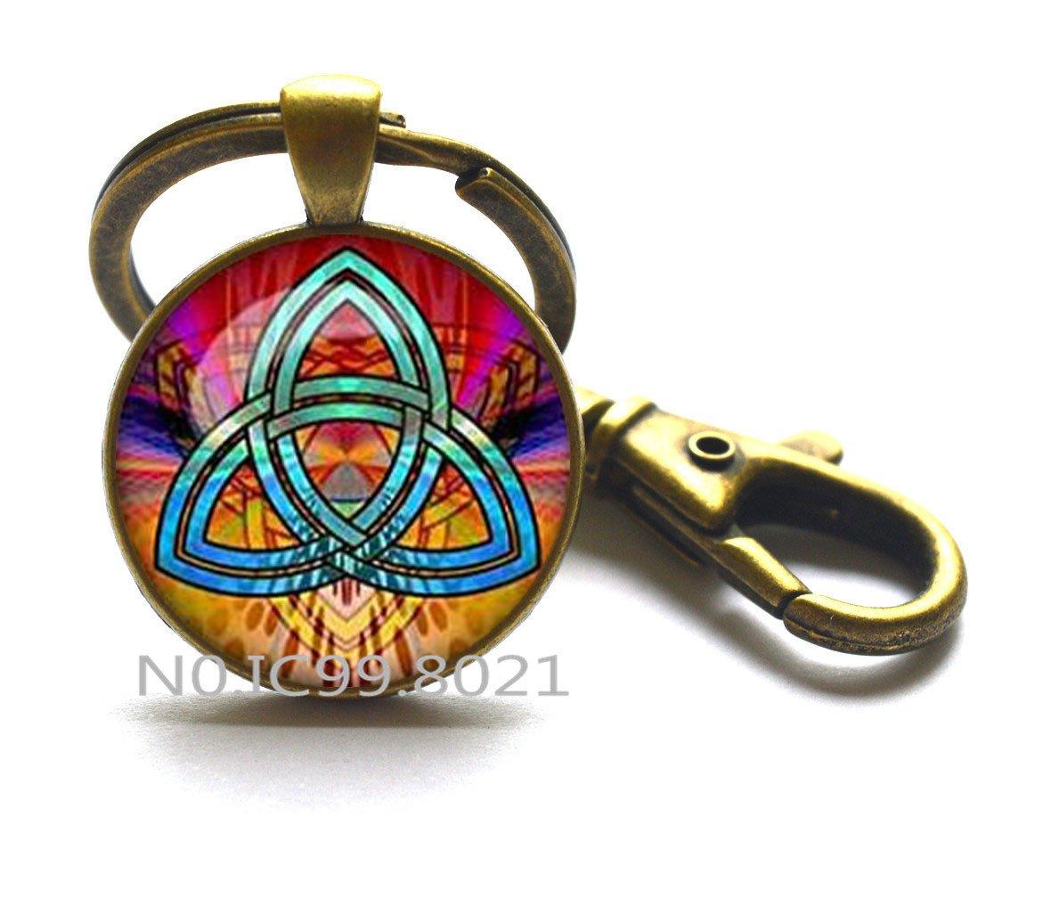 Triángulo celta, nudo celta, símbolo de Trinidad, trinidad ...