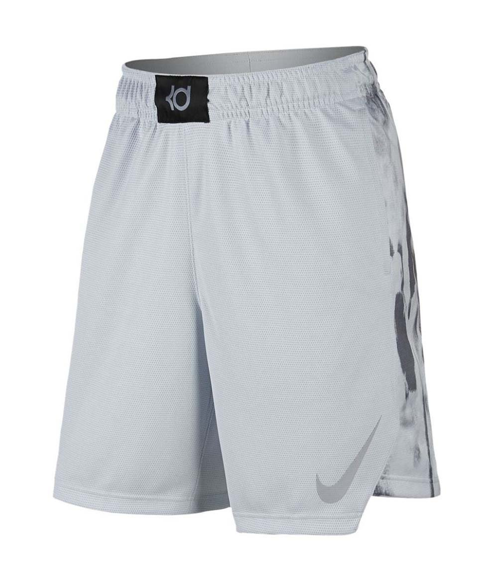 NIKE Big Boys' (8-20) Dri-Fit KD Elite Basketball Shorts-Pure Platinum-Small