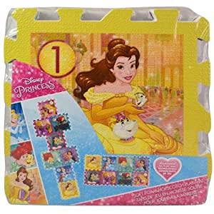 Amazon Com What Kids Want Disney Princess Foam Hopscotch
