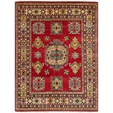 """Ecarpetgallery Hand-knotted Finest Gazni Red 4'11"""" x 6'8"""" 100% Wool Traditional area rug"""