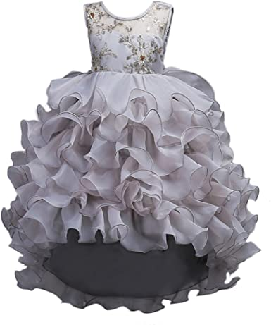 Flower Girls Dress Kids Baby Princess Party Wedding Pageant Formal Tutu Dress