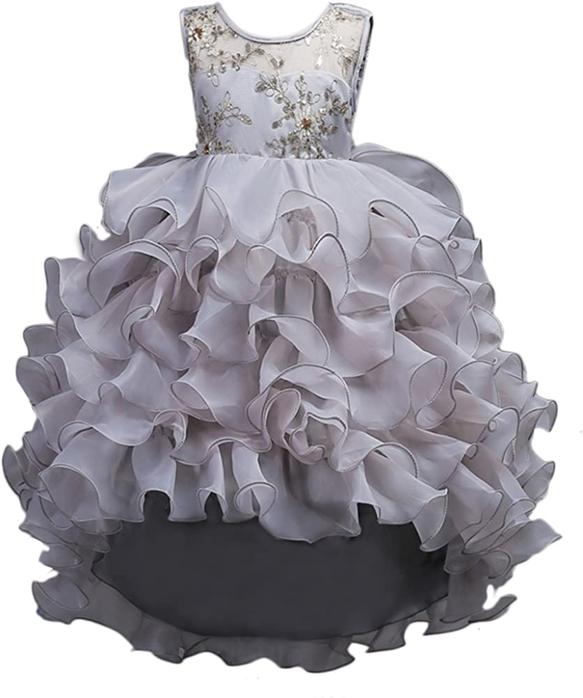 Kids Baby Girl Princess Dress Wedding Bridesmaid Pageant Party Cute Tutu Dresses