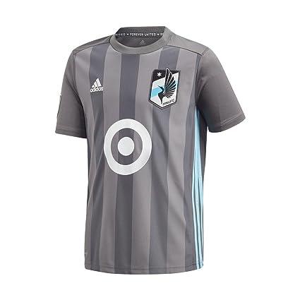 adidas Youth Minnesota United FC Soccer Jersey Home Replica Jersey (YTH  (8-10 34e89d299