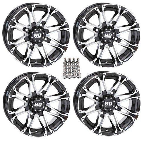 sti hd3 atv wheels rims machined 14