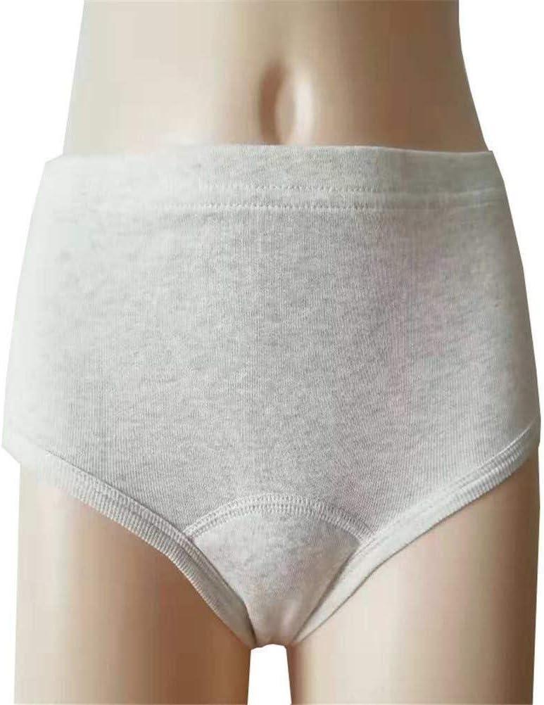 Color : 2, Size : Large Lavabile incontinenza urinaria Biancheria Intima for Gli Anziani e Le Donne 0101 JJLS Riutilizzabile Impermeabile ermetiche Pannolini di Stoffa Periodo mestruale Slip