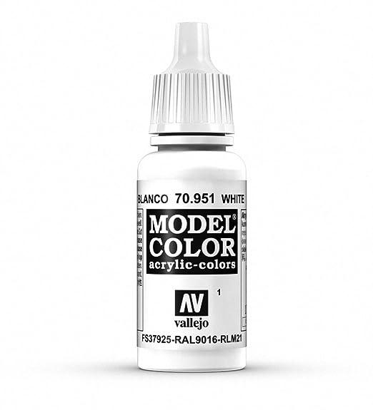 3291a2bdc85ed Vallejo White Model Color 2 Paint, 17ml
