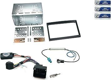 Niq Radio Einbauset Inkl Lfb Geeignet Für Citroen C2 Elektronik