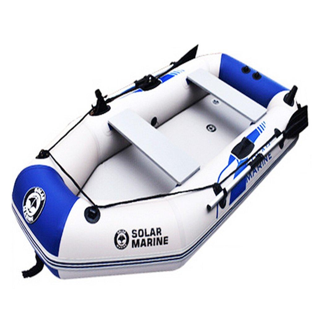 HT BEI Kayak Pesca Barco de Asalto Barco Inflable 1-6 Personas 5 ...