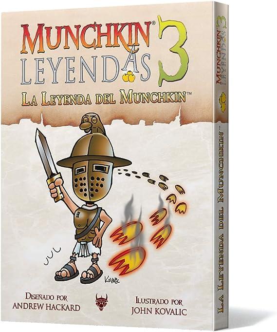 Edge Entertainment 3: La Leyenda del Munchkin-Español, Color ...