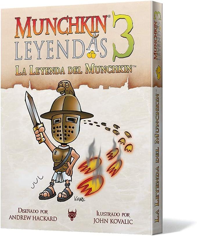 Edge Entertainment 3: La Leyenda del Munchkin-Español, Color (EESJML03): Amazon.es: Juguetes y juegos