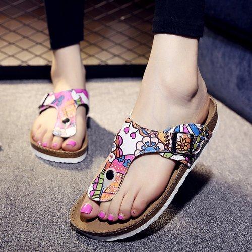 Xing Lin Sandales Pour Hommes Chaussons Pour Hommes Sandales Hommes DÉté Anti-Dérapant Chaussures De Plage Sandales Pied Clip