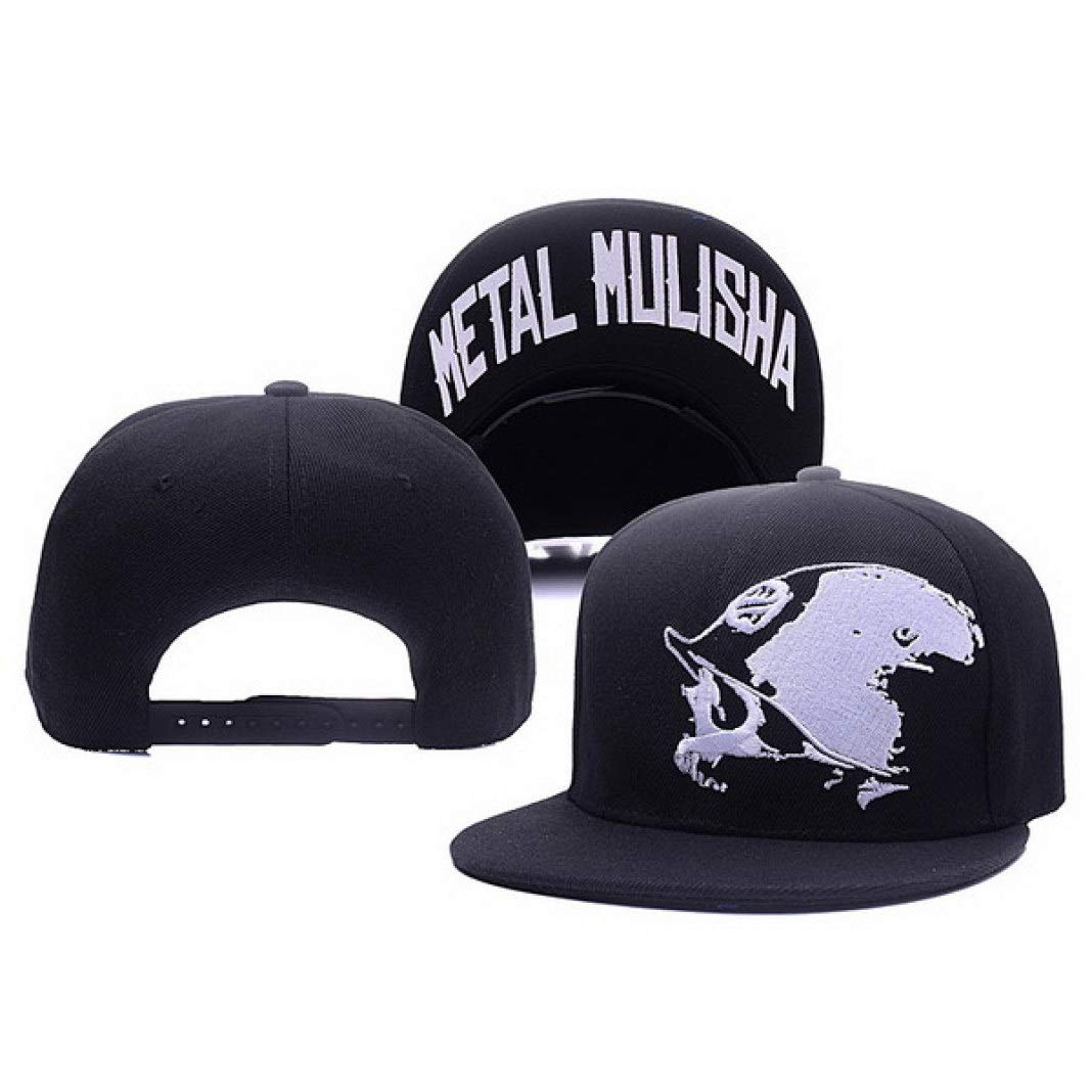 HiiWorld Metal Mulisha Adjustable Baseball Hat Hip Hop Snapback Cap for Men Women caps