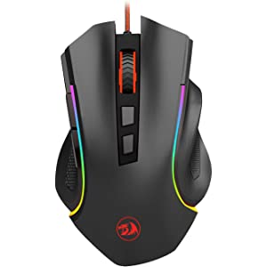 Amazon com: Redragon M601 Gaming Mouse, Ergonomic Wired MMO 6 Button