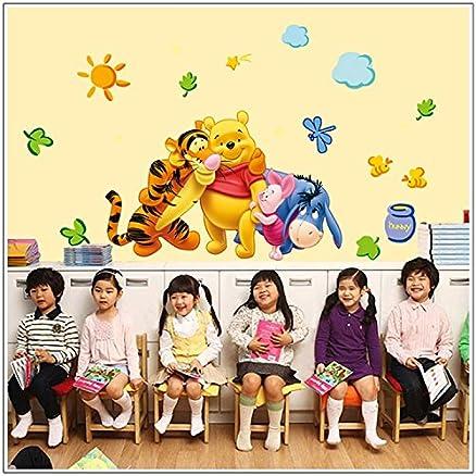 Jaamso Royals U0027 Winnie The Pooh Wall Sticker Home Decor Cartoonâ U0027 Wall  Sticker (Pvc Part 43