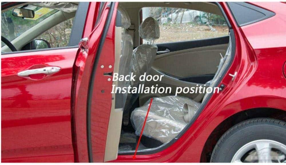 GWQNB Lot de 4 plaques de protection en acier inoxydable pour Volvo XC60 2012-2016