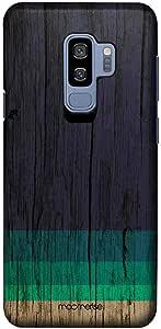 Macmerise Wood Stripes Blue Pro Case For Samsung S9 Plus