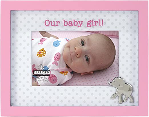 "Baby Memoto Shadowbox Free S Malden Baby Memories Picture Frame New 4/"" x 6/"""