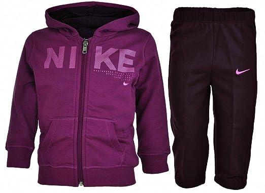really cheap new high quality where can i buy Nike Kids Tracksuit Baby Jogginganzug Trainingsanzug Lila