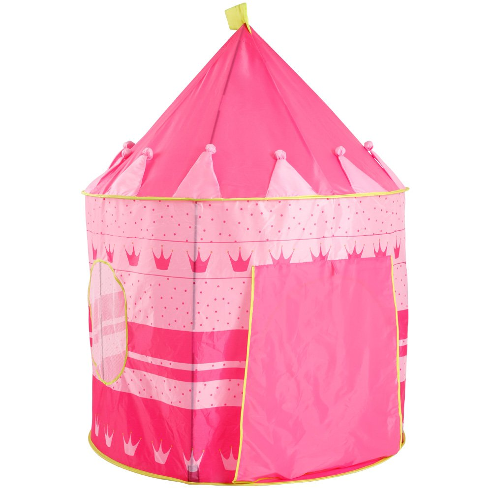 Infantastic Childrenu0027s Pop-Up Tent Play House (Candy Palace - Pink/Yellow) Kids Boys Girls Playhouse Toy Amazon.co.uk Toys u0026 Games  sc 1 st  Amazon UK & Infantastic Childrenu0027s Pop-Up Tent Play House (Candy Palace - Pink ...