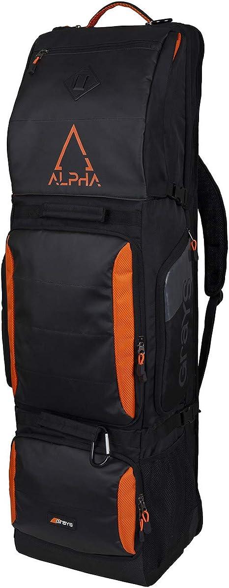 Black//Orange 2019 Grays Alpha Kitbag Free P/&P