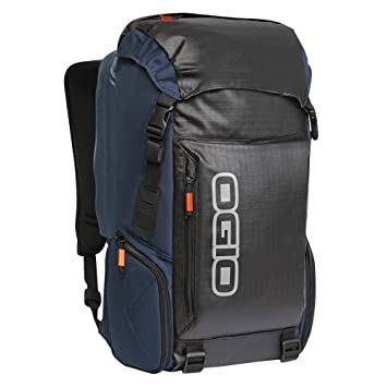 Ogio Throttle Motocross Enduro Quad MX SX Mochila Negro Azul Backpack: Amazon.es: Coche y moto