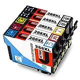#6: JetSir Remanufactured Ink Cartridge Replacement for Epson 288xl ( Black,Cyan,Magenta,Yellow , 5-pack )