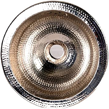 Amazing 13u0026quot; X 13u0026quot; Round Hammered Undermount Bar Sink ...