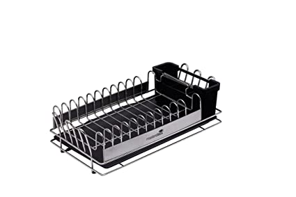 Kitchen Craft Master Class Escurreplatos Horizontal pequeño de Acero  Inoxidable 6fba77b31e74