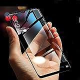 Zynk Case® 6D/11D Black HD Pro Quality 9H Edge to Edge High-Definition Screen Protector (Black) High Sensitivity [Anti-Fingerprint] Gorilla Tempered Glass for Vivo U20