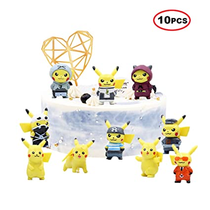 Prime Pokemon Deluxe Birthday Cake Topper Set Brand New Featuring Funny Birthday Cards Online Eattedamsfinfo