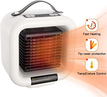 Pinlo 1000-Watt Portable Ceramic Space Heater