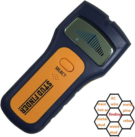 3-IN-1 Metal Detector Stud Center Scanner Finder Wall AC Live Cable//Wire Tester