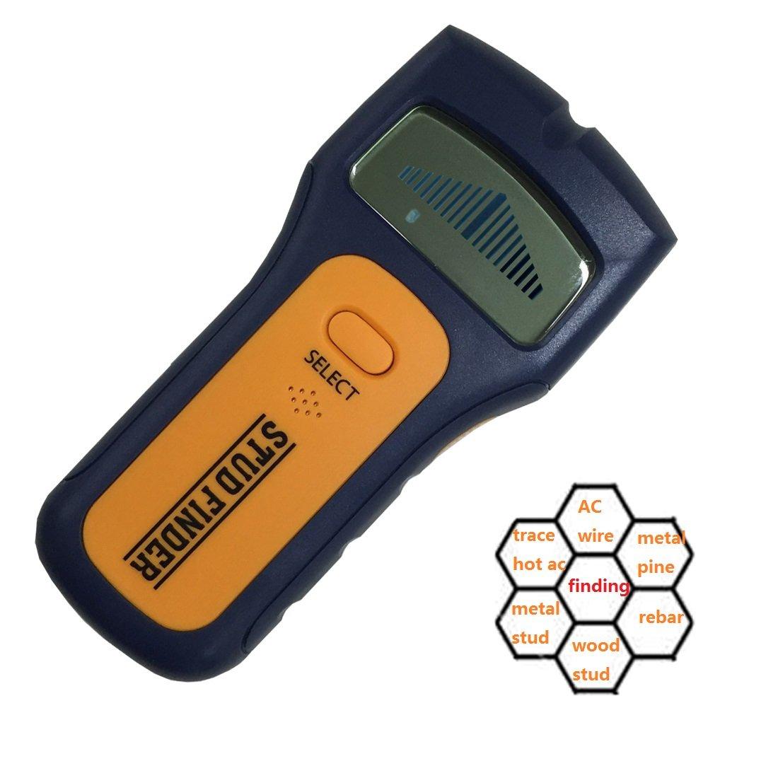 Generic - Escáner de pared para pernos (3 en 1, detector de clavos, para madera, detección de tubos de metal con batería de 9 V): Amazon.es: Coche y moto