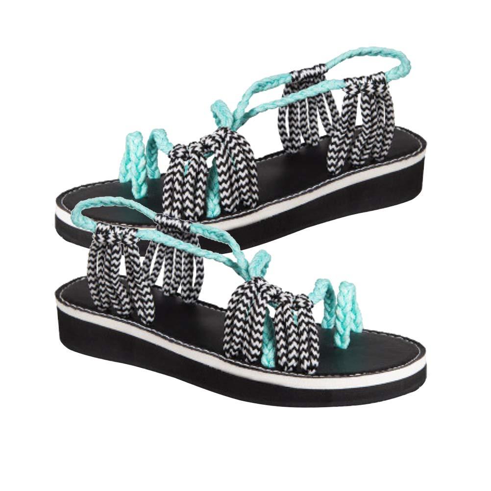 FENICAL Schuhes Beach Rope Schuhes FENICAL Toe Crotch Crotch Toe Sandalei piatti per ... a87286