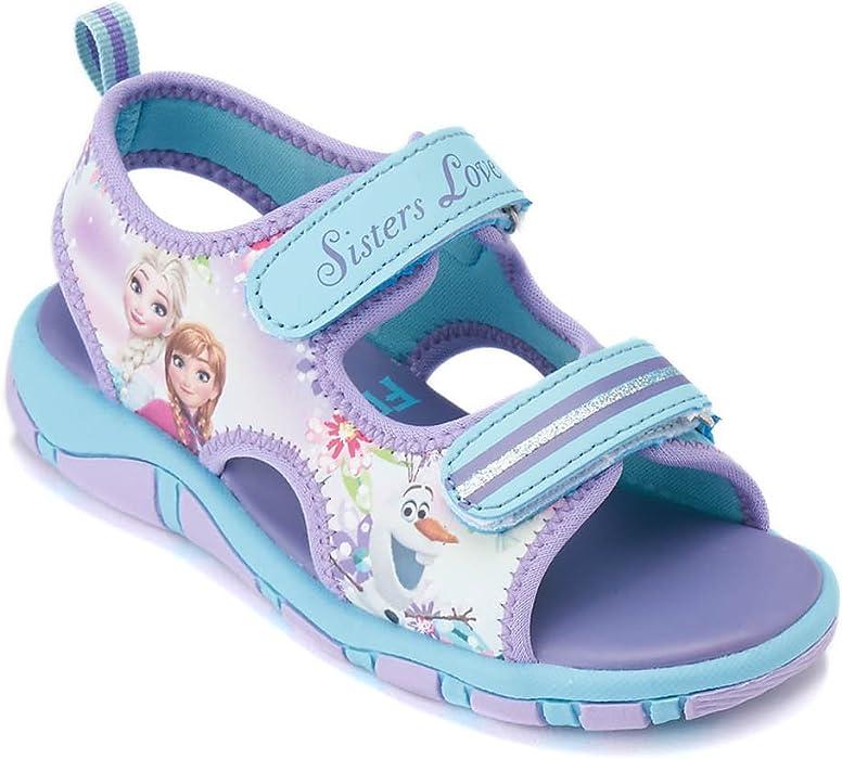 Disney Frozen - Il regno di ghiaccio Ragazze Sandali - malva - 28 ... fcf3ce58736