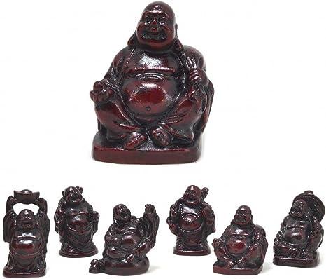 ARUNDEL SERVICES EU 6 Figuras Miniatura de Buda Buda Zen Jardín Budista Jardín Budista Zen Buda: Amazon.es: Hogar