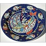 Bopla Nemo Grande assiette en porcelaine Bleu